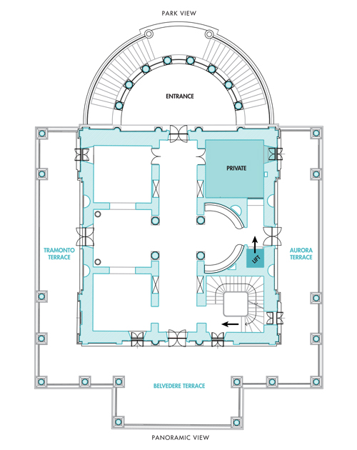 First Floor Terrazze Floor Casina Valadier Il Più Bel