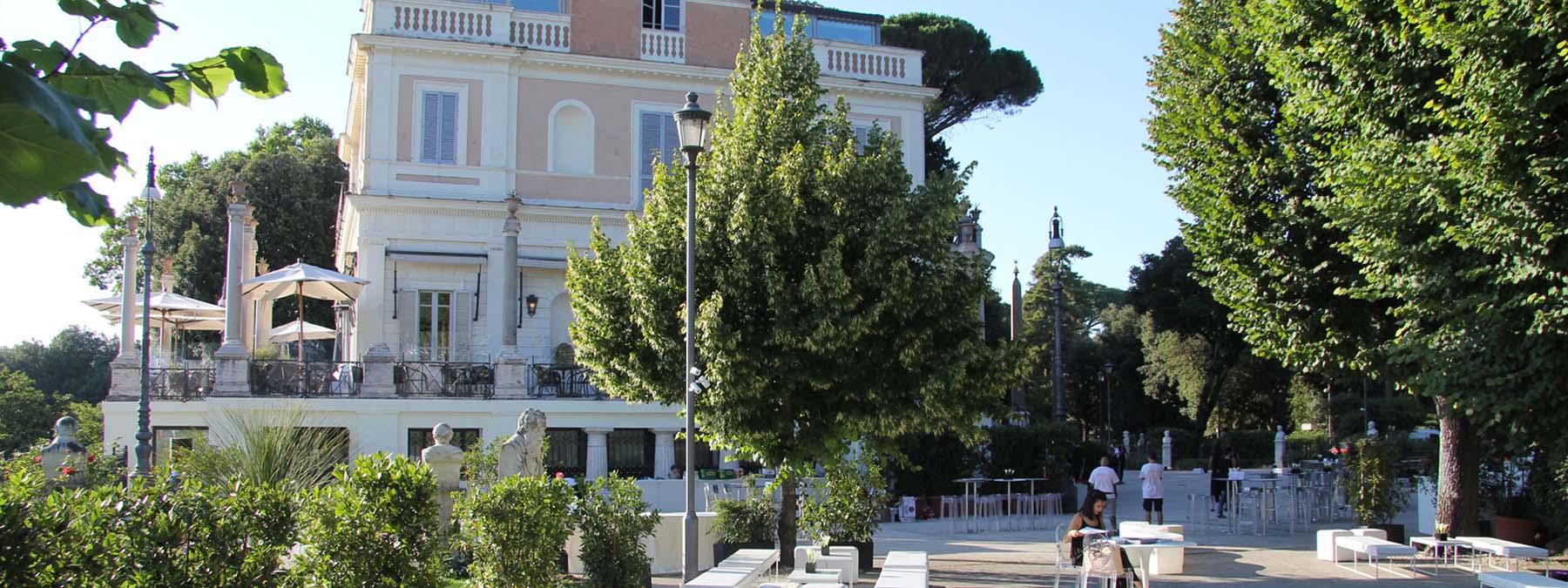 eventi all'aperto a Roma - Casina Valadier