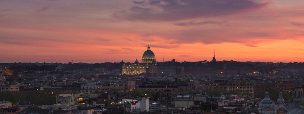 serata romantica a roma - casina valadier