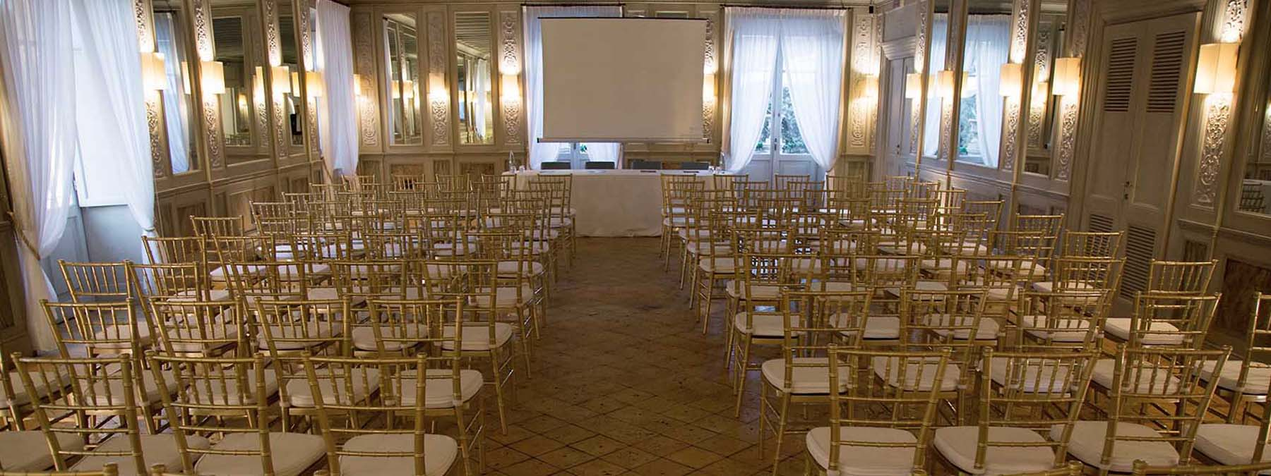 location per conferenze stampa - casina valadier